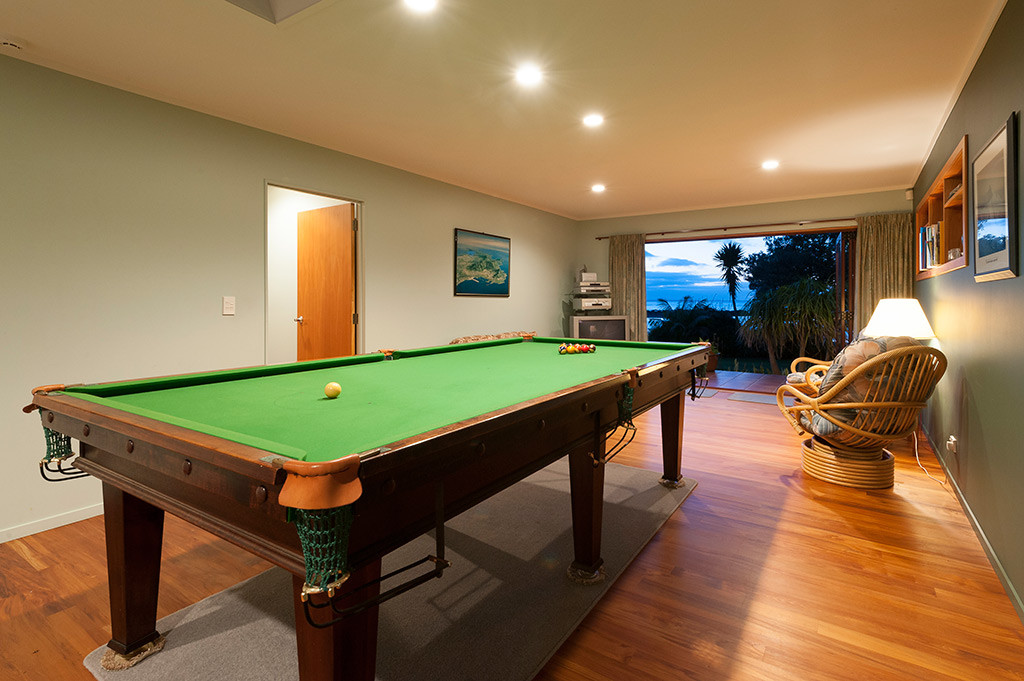Games room at Sanctuary in the Cove, Coopers Beach