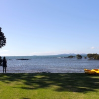 Kayak from right in front of your cottage