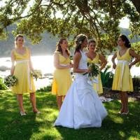 beautiful beachfront wedding photo location