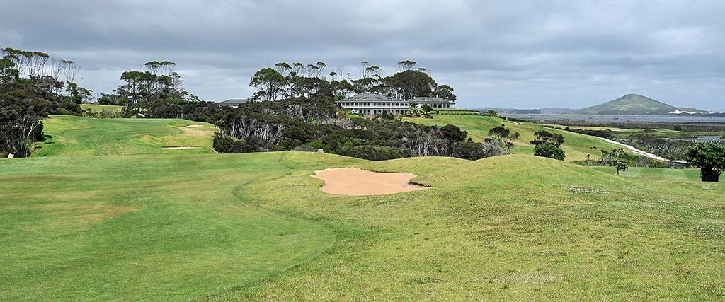 Hole 9 - Carrington Golf Course