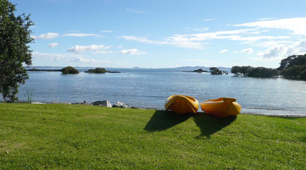 Holiday Accommodation Coopers Beach - Kayaks for fun and good times on the water at Sanctuary in the Cove.