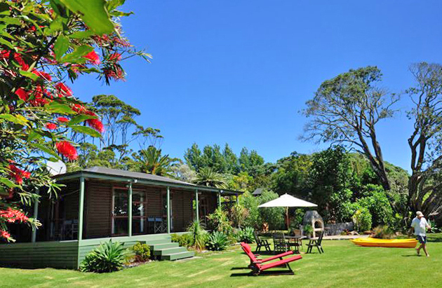 Pohutukawa Cottage, Sanctuary in the Cove, Coopers Beach