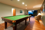 snooker table in main house