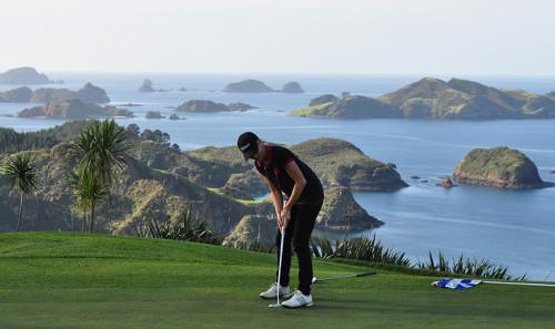 Golf at Kauri Cliffs